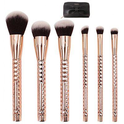 Pincel BrushMaster BM - S23 6PCS Professional Makeup