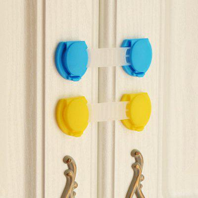 2PCS Flexible Child Protection Baby Safety Security Lock