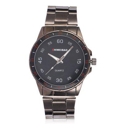 SHI WEI BAO 27G Men Fashionable WristwatchMens Watches<br>SHI WEI BAO 27G Men Fashionable Wristwatch<br><br>Band material: Stainless Steel<br>Band size: 19.49 x 2.3cm<br>Brand: Shiweibao<br>Case material: Zinc Alloy<br>Clasp type: Sheet folding clasp<br>Dial size: 4.1 x 4.1 x 0.97cm<br>Display type: Analog<br>Movement type: Quartz watch<br>Package Contents: 1 x Watch<br>Package size (L x W x H): 10.36 x 7.84 x 7.43 cm / 4.08 x 3.09 x 2.93 inches<br>Package weight: 0.1040 kg<br>Product size (L x W x H): 19.49 x 4.10 x 0.97 cm / 7.67 x 1.61 x 0.38 inches<br>Product weight: 0.0840 kg<br>Shape of the dial: Round<br>Watch mirror: Acrylic<br>Watch style: Fashion<br>Watches categories: Men