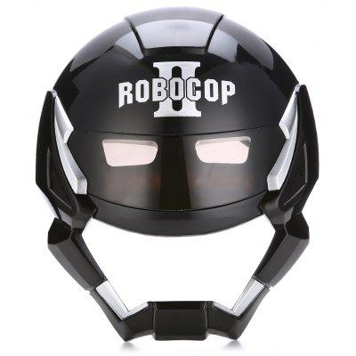 Buy BLACK Halloween Themed Mask Cartoon Black Robot for $4.81 in GearBest store