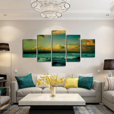 5PCS Unframed Prints Modern Canvas Sea Wall ArtPrints<br>5PCS Unframed Prints Modern Canvas Sea Wall Art<br><br>Craft: Print<br>Form: Five Panels<br>Material: Canvas<br>Package Contents: 5 x Print<br>Package size (L x W x H): 42.00 x 6.00 x 6.00 cm / 16.54 x 2.36 x 2.36 inches<br>Package weight: 0.4000 kg<br>Painting: Without Inner Frame<br>Product weight: 0.3600 kg<br>Shape: Horizontal Panoramic<br>Style: Modern<br>Subjects: Seascape<br>Suitable Space: Living Room