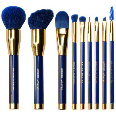 BrushMaster BM - S15 9PCS Durable Makeup Brushes