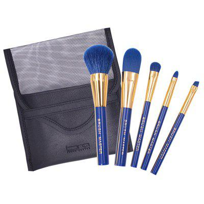 BrushMaster BM - S13  5PCS Portable Makeup Brushes