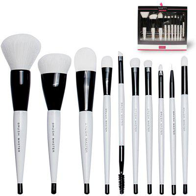 BrushMaster BM - S06 - B 10PCS Premium Makeup Brushes