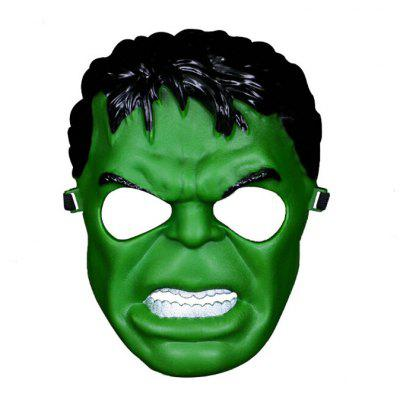 Gearbest Decorative Horrible Masquerade Mask for Costume - GREEN