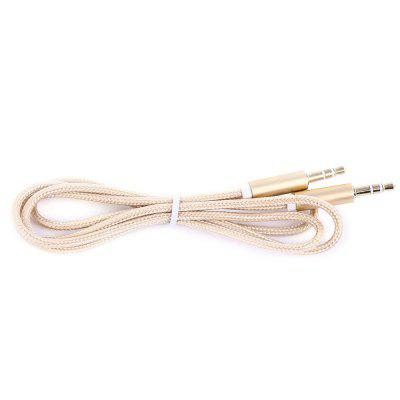 3.5mm to 3.5mm Audio Cable Gold-plated InterfaceCables &amp; Connectors<br>3.5mm to 3.5mm Audio Cable Gold-plated Interface<br><br>Cable Length (m): 1M<br>Connector Type: AV<br>Interface: 3.5mm<br>Package Contents: 1 x Audio Cable<br>Package size (L x W x H): 15.00 x 10.00 x 1.00 cm / 5.91 x 3.94 x 0.39 inches<br>Package weight: 0.0180 kg<br>Product weight: 0.0160 kg<br>Type: Cable