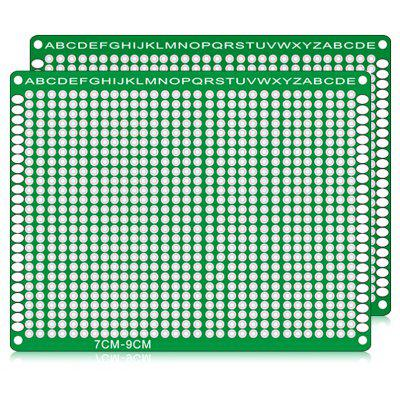 Buy LandaTianrui LDTR WG032 / D3 2PCS PCB Prototype Board GREEN Electrical & Tools > DIY Parts & Components for $1.73 in GearBest store