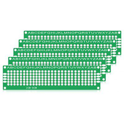 Buy LandaTianrui LDTR WG0032 / D1 5PCS 2x8cm PCB Board GREEN Electrical & Tools > DIY Parts & Components for $1.98 in GearBest store