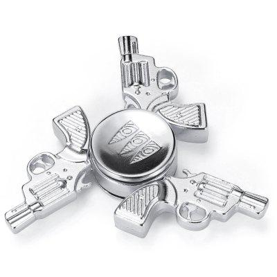 Retro Pistol Fidget Tri-spinnerFidget Spinners<br>Retro Pistol Fidget Tri-spinner<br><br>Frame material: Aluminum Alloy<br>Package Contents: 1 x Fidget Tri-spinner<br>Package size (L x W x H): 9.00 x 9.00 x 2.00 cm / 3.54 x 3.54 x 0.79 inches<br>Package weight: 0.0840 kg<br>Product size (L x W x H): 6.50 x 6.50 x 1.10 cm / 2.56 x 2.56 x 0.43 inches<br>Product weight: 0.0490 kg