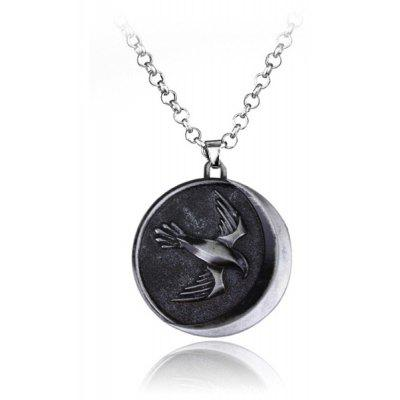 Eagle Style Zinc Alloy Necklace