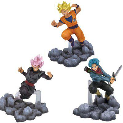 Collectible Animation Figurine Model Toy - 3pcs / set