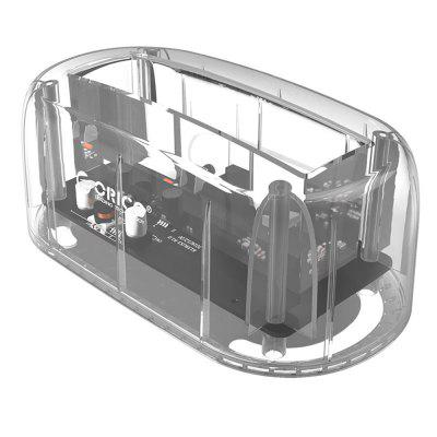 ORICO 6139C3 - CR Transparent Hard Drive EnclosureHDD Enclosure<br>ORICO 6139C3 - CR Transparent Hard Drive Enclosure<br><br>Application: Desktop, Laptop, Server<br>Brand: ORICO<br>Design: Portable, Cool, Compact<br>Material: ABS<br>Model: 6139C3 - CR<br>Package Size(L x W x H): 16.40 x 13.80 x 8.10 cm / 6.46 x 5.43 x 3.19 inches<br>Package weight: 0.4700 kg<br>Packing List: 1 x ORICO Hard Drive Enclosure, 1 x Power Adapter, 1 x USB 3.0 Cable, 1 x English User Manual<br>Product Size(L x W x H): 14.50 x 7.80 x 6.00 cm / 5.71 x 3.07 x 2.36 inches<br>Product weight: 0.4400 kg
