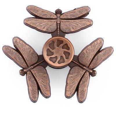 Dragonfly Zinc Alloy Fidget Tri-spinner Pressure Reducing Toy