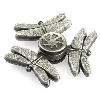 Dragonfly Zinc Alloy Fidget Tri-spinner Pressure Reducing ToyFidget Spinners<br>Dragonfly Zinc Alloy Fidget Tri-spinner Pressure Reducing Toy<br><br>Center Bearing Model: R188<br>Color: Silver<br>Frame material: Zinc Alloy<br>Package Contents: 1 x Fidget Spinner<br>Package size (L x W x H): 9.00 x 9.00 x 2.00 cm / 3.54 x 3.54 x 0.79 inches<br>Package weight: 0.1070 kg<br>Product size (L x W x H): 6.20 x 6.20 x 1.30 cm / 2.44 x 2.44 x 0.51 inches<br>Product weight: 0.0720 kg<br>Swing Numbers: Tri-Bar<br>Type: Triple Blade, Insect