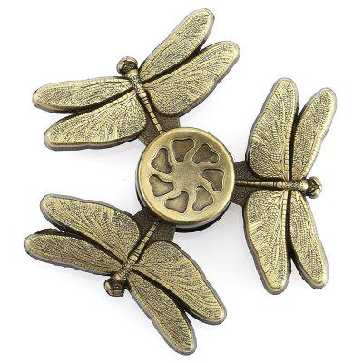 Dragonfly цинковый сплав Fidget Tri-spinner Pressure Reducing Toy