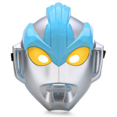 Classic Anime Hero Galaxy Altman Pattern Mask for Halloween