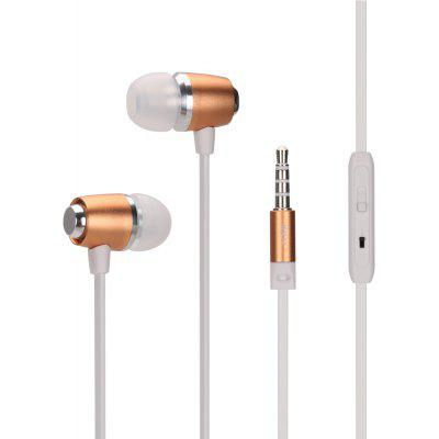 igoz E7 Wired Metal Shocking Bass Earphones with Mic