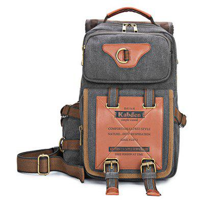 Kabden 7015 Canvas Leisure Shoulder Sling Bag HandbagSling Bag<br>Kabden 7015 Canvas Leisure Shoulder Sling Bag Handbag<br><br>Bag Capacity: 15L<br>Brand: Kabden<br>Capacity: 10 - 20L<br>For: Casual, Travel<br>Gender: Unisex<br>Material: Canvas<br>Package Contents: 1 x Kabden 7015 Sling Bag<br>Package size (L x W x H): 36.00 x 26.00 x 8.00 cm / 14.17 x 10.24 x 3.15 inches<br>Package weight: 1.1400 kg<br>Product size (L x W x H): 35.00 x 25.00 x 15.00 cm / 13.78 x 9.84 x 5.91 inches<br>Product weight: 1.0600 kg<br>Type: Sling Bag