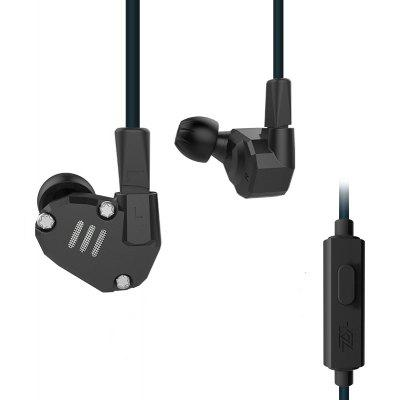 Gearbest KZ ZS6 Custom-built Hybrid HiFi In-ear Earphones $24.99 with Coupon 'BlackFAFF05' promotion