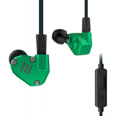 KZ ZS6 Custom-built Hybrid HiFi In-Ear-Ohrhörer