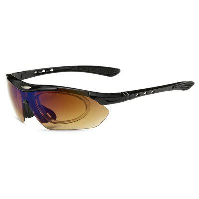 Buy BLACK CTSmart 0089 Outdoor Cycling Unisex Sunglasses for $14.67 in GearBest store