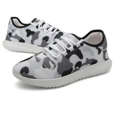 Masculino Trendy Breathable Camouflage Athletic Casual Shoes
