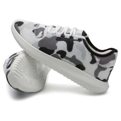 Male Trendy Breathable Camouflage Athletic Casual ShoesCasual Shoes<br>Male Trendy Breathable Camouflage Athletic Casual Shoes<br><br>Closure Type: Lace-Up<br>Contents: 1 x Pair of Shoes<br>Function: Slip Resistant<br>Materials: Rubber, PU<br>Occasion: Sports, Shopping, Riding, Outdoor Clothing, Holiday, Daily, Casual, Running<br>Outsole Material: Rubber<br>Package Size ( L x W x H ): 31.00 x 21.00 x 11.00 cm / 12.2 x 8.27 x 4.33 inches<br>Seasons: Autumn,Spring<br>Style: Modern, Leisure, Fashion, Comfortable, Casual<br>Toe Shape: Round Toe<br>Type: Casual Leather Shoes<br>Upper Material: PU