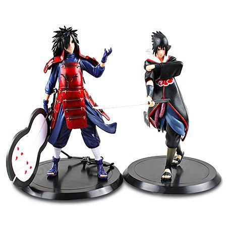2PCS 18cm Japanese Animation PVC Figurine for Collection