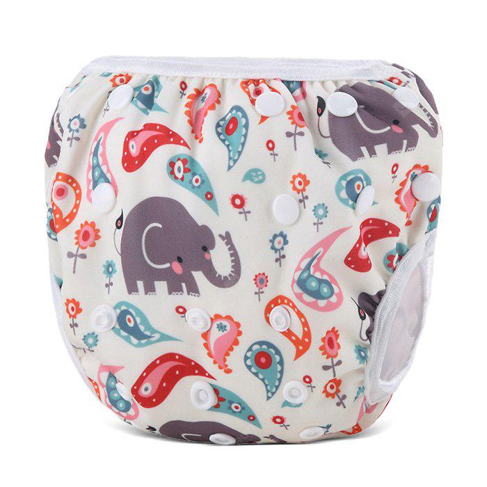 Cute Baby Swim Diaper Reusable Absorbent Infant Nappy