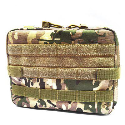 Multifunctional Nylon Tactical Accessory Bag for Outdoor Use