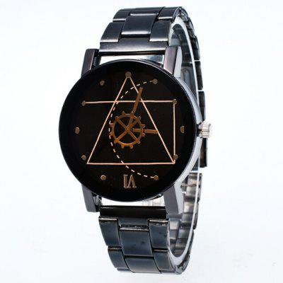 Stylish Quartz Couple Watch with Special Pattern