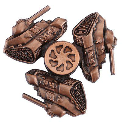 Retro Tank Fidget Tri-spinner with R188 BearingFidget Spinners<br>Retro Tank Fidget Tri-spinner with R188 Bearing<br><br>Frame material: Zinc Alloy<br>Package Contents: 1 x Fidget Spinner<br>Package size (L x W x H): 9.00 x 9.00 x 2.00 cm / 3.54 x 3.54 x 0.79 inches<br>Package weight: 0.1110 kg<br>Product size (L x W x H): 6.70 x 6.70 x 1.40 cm / 2.64 x 2.64 x 0.55 inches<br>Product weight: 0.0780 kg