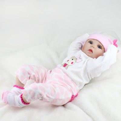 Adorable Simulation Lifelike Newborn Silicone Baby DollStuffed Cartoon Toys<br>Adorable Simulation Lifelike Newborn Silicone Baby Doll<br><br>Features: Model, Soft<br>Materials: Cloth<br>Package Contents: 1 x Simulation Baby Doll<br>Package size: 52.00 x 23.50 x 15.00 cm / 20.47 x 9.25 x 5.91 inches<br>Package weight: 1.7650 kg<br>Product size: 20.00 x 15.00 x 55.00 cm / 7.87 x 5.91 x 21.65 inches<br>Product weight: 1.1850 kg<br>Series: Ethnic,Lifestyle<br>Theme: Other