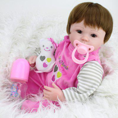 Cute Soft Touch Lifelike Silicone Baby Girl Reborn Toy