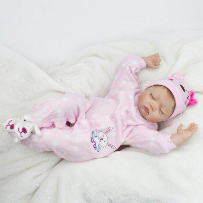 Sleeping Silicone simulation Infant Realistic Baby DollStuffed Cartoon Toys<br>Sleeping Silicone simulation Infant Realistic Baby Doll<br><br>Features: Model, Soft<br>Materials: Cloth, Other<br>Package Contents: 1? Reborn Baby Doll<br>Package size: 52.00 x 23.50 x 15.00 cm / 20.47 x 9.25 x 5.91 inches<br>Package weight: 1.5000 kg<br>Product size: 20.00 x 15.00 x 55.00 cm / 7.87 x 5.91 x 21.65 inches<br>Product weight: 1.1000 kg<br>Series: Ethnic,Lifestyle<br>Theme: Other