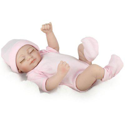 Cute Sleeping Silicone Infant Realistic Baby DollStuffed Cartoon Toys<br>Cute Sleeping Silicone Infant Realistic Baby Doll<br><br>Features: Model, Soft<br>Materials: Cloth, Other<br>Package Contents: 1? Reborn Baby Doll<br>Package size: 28.00 x 12.50 x 13.00 cm / 11.02 x 4.92 x 5.12 inches<br>Package weight: 0.4800 kg<br>Product size: 15.00 x 10.00 x 28.00 cm / 5.91 x 3.94 x 11.02 inches<br>Product weight: 0.3000 kg<br>Series: Ethnic,Lifestyle<br>Theme: Other