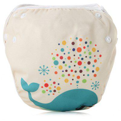 SM1 Leakproof Reusable Mesh Adjustable Baby Swim Diaper