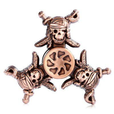 Retro Pirate Style Fidget Tri-spinnerFidget Spinners<br>Retro Pirate Style Fidget Tri-spinner<br><br>Frame material: Zinc Alloy<br>Package Contents: 1 x Fidget Spinner<br>Package size (L x W x H): 9.00 x 9.00 x 2.00 cm / 3.54 x 3.54 x 0.79 inches<br>Package weight: 0.0980 kg<br>Product size (L x W x H): 6.80 x 6.80 x 1.40 cm / 2.68 x 2.68 x 0.55 inches<br>Product weight: 0.0660 kg<br>Swing Numbers: Tri-Bar<br>Type: Retro