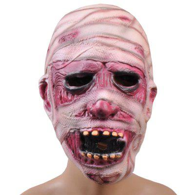 Horror Zombie MaskHalloween Supplies<br>Horror Zombie Mask<br><br>For: All<br>Material: Latex<br>Package Contents: 1 x Mask<br>Package size (L x W x H): 29.00 x 26.00 x 13.00 cm / 11.42 x 10.24 x 5.12 inches<br>Package weight: 0.1000 kg<br>Product size (L x W x H): 28.00 x 25.00 x 12.00 cm / 11.02 x 9.84 x 4.72 inches<br>Product weight: 0.0900 kg<br>Usage: Halloween