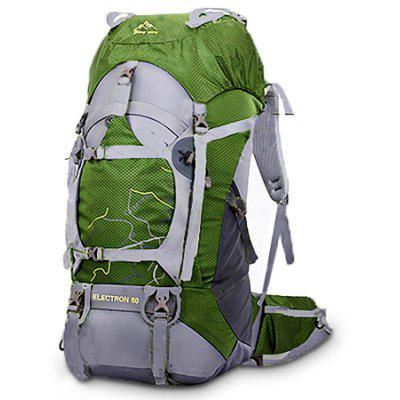 Buy GREEN Fengtu 435 Water-resistant Nylon Climbing Backpack Bag for $34.04 in GearBest store