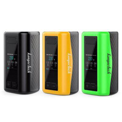 Original Kangertech iKEN ModTemperature Control Mods<br>Original Kangertech iKEN Mod<br><br>Accessories type: MOD<br>APV Mod Wattage: 230W<br>APV Mod Wattage Range: Over 200W<br>Brand: Kanger<br>Material: Aluminum Alloy<br>Mod: Temperature Control Mod,VW Mod<br>Model: iKEN<br>Package Contents: 1 x iKEN Mod, 2 x Micro USB Cable, 1 x English User Manual<br>Package size (L x W x H): 12.00 x 8.00 x 5.00 cm / 4.72 x 3.15 x 1.97 inches<br>Package weight: 0.2200 kg<br>Product size (L x W x H): 7.80 x 4.40 x 4.20 cm / 3.07 x 1.73 x 1.65 inches<br>Product weight: 0.1740 kg<br>Temperature Control Range: 100 - 315 Deg.C / 200 - 600 Deg.F<br>Type: Electronic Cigarettes Accessories