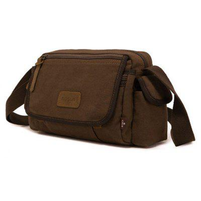 Men Outdoor Durable Canvas Shoulder Bag