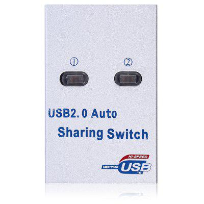 USB 2.0 Auto Sharing Switch with 2 USB Type-B Port