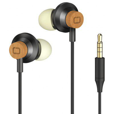 OMARS Line Control Noise-isolating In-Ear Earphones with Mic