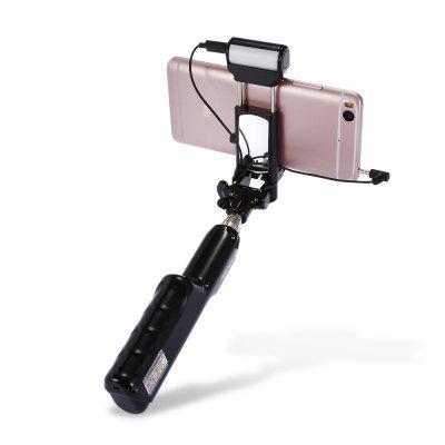 ADYSS A6 Wire Control Selfie Stick Shutter Monopod LED FlashStands &amp; Holders<br>ADYSS A6 Wire Control Selfie Stick Shutter Monopod LED Flash<br><br>Accessories type: Selfie Stick<br>Battery Capacity(mAh): 1200mAh<br>Brand: ADYSS<br>Clip Holder Range: 48 - 95mm<br>Extended Length: 87cm<br>Features: With Cable<br>Folding Length: 18.5cm<br>Material: Stainless Steel, ABS<br>Package Contents: 1 x Selfie Stick, 1 x Pouch, 1 x English Manual, 1 x USB Cable, 1 x Lanyard<br>Package size: 21.50 x 6.00 x 5.40 cm / 8.46 x 2.36 x 2.13 inches<br>Package weight: 0.2390 kg<br>Product size: 18.50 x 4.00 x 4.30 cm / 7.28 x 1.57 x 1.69 inches<br>Product weight: 0.1780 kg