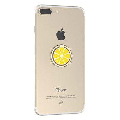 Lemon Pattern Round Shape Ring Holder for Cell PhoneStands &amp; Holders<br>Lemon Pattern Round Shape Ring Holder for Cell Phone<br><br>Accessories type: Stand<br>Mainly Compatible with: Universal<br>Package Contents: 1 x Ring Holder<br>Package size (L x W x H): 5.50 x 4.00 x 2.00 cm / 2.17 x 1.57 x 0.79 inches<br>Package weight: 0.0360 kg<br>Product size (L x W x H): 3.00 x 3.00 x 0.35 cm / 1.18 x 1.18 x 0.14 inches<br>Product weight: 0.0160 kg<br>Type: Stand