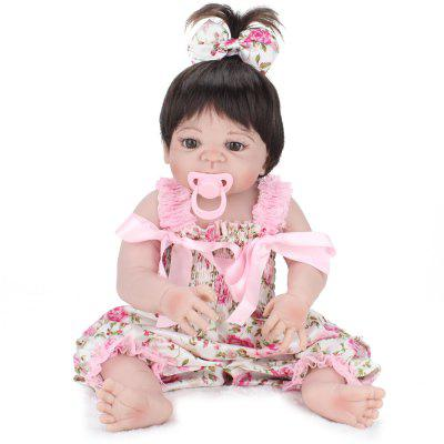 Simulering Reborn Girl Doll Intelligent Baby Educational Toy for Kids