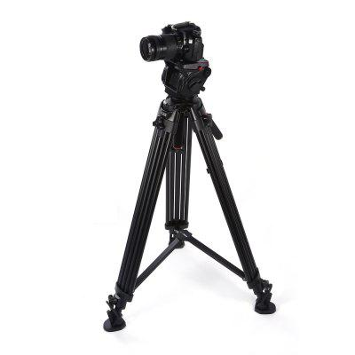 KINGJOY VT - 3500 + VT3530 Photograph Tripod PTZ SetTripods<br>KINGJOY VT - 3500 + VT3530 Photograph Tripod PTZ Set<br><br>Accessories type: Tripod Adapter<br>Brand: KINGJOY<br>Compatible with: Digital Camera, DSLR<br>Folded Length (cm): 90<br>Leg Sections: 3<br>Material: Metal<br>Max Height (cm): 184.5<br>Max Load (kg): More than 15kg<br>Minimum Height (cm): 90<br>Model: VT - 3500 + VT3530<br>Package Contents: 1 x Tripod, 1 x Strap, 1 x Storage Bag, 1 x Chinese / English Instruction<br>Package size (L x W x H): 113.00 x 21.00 x 20.50 cm / 44.49 x 8.27 x 8.07 inches<br>Package weight: 6.5000 kg<br>Product weight: 5.8800 kg<br>Production type: Pan-tilt,Tripod