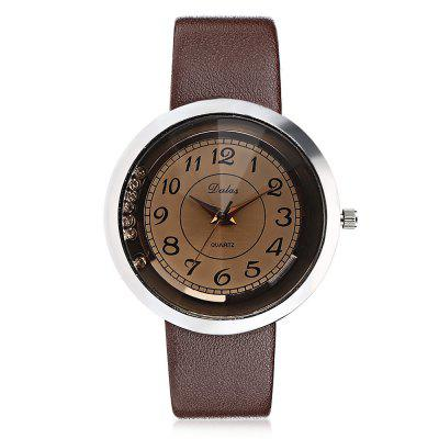 Popular Quartz Watch with Leather Band for WomenWomens Watches<br>Popular Quartz Watch with Leather Band for Women<br><br>Band material: Leather<br>Band size: 23 x 2cm<br>Case material: Alloy<br>Clasp type: Pin buckle<br>Dial size: 3.5 x 3.5 x 1cm<br>Display type: Analog<br>Movement type: Quartz watch<br>Package Contents: 1 x Watch, 1 x Box<br>Package size (L x W x H): 8.50 x 8.00 x 5.50 cm / 3.35 x 3.15 x 2.17 inches<br>Package weight: 0.0690 kg<br>Product size (L x W x H): 23.00 x 3.50 x 1.00 cm / 9.06 x 1.38 x 0.39 inches<br>Product weight: 0.0340 kg<br>Shape of the dial: Round<br>Watch mirror: Acrylic<br>Watch style: Fashion<br>Watches categories: Women<br>Water resistance: Life water resistant<br>Wearable length: 17.2 - 23cm