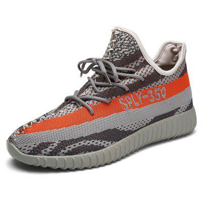 Male Breathable Light Knitted Sports Sneakers Mesquite Search and sale